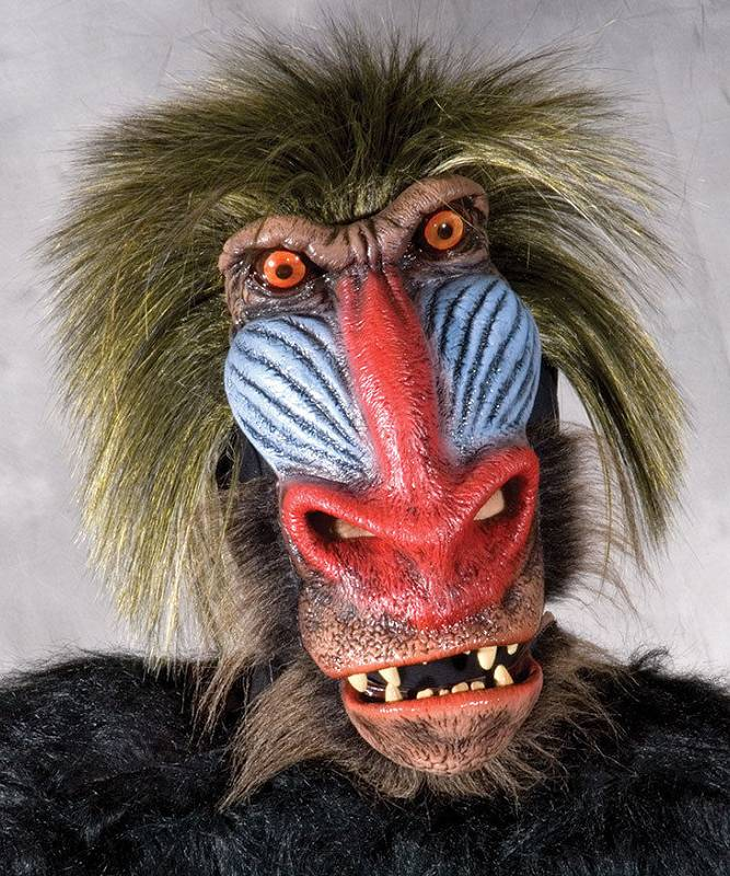 Masque singe babouin