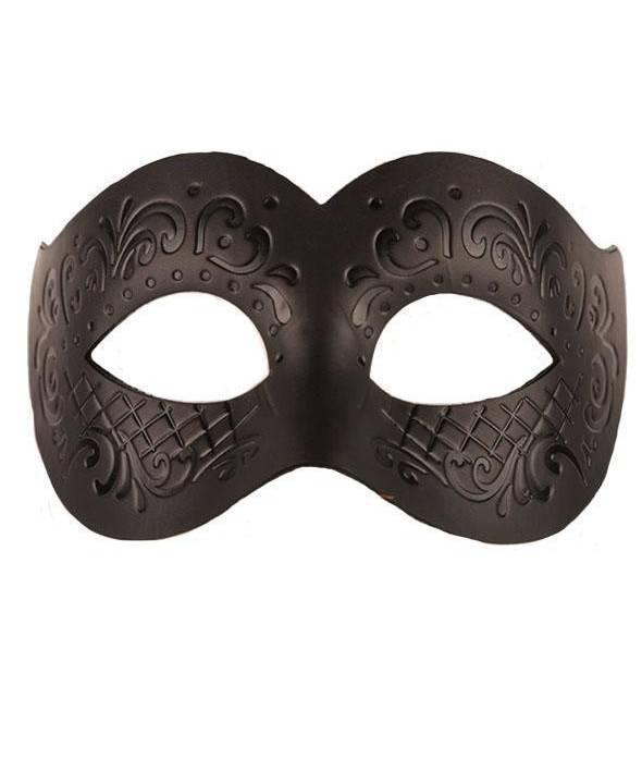 Masque-cuir-noir