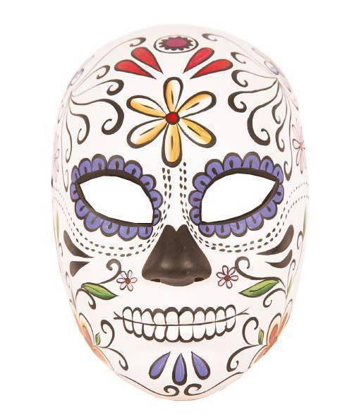 Masque-mort-Mexicain-Femme