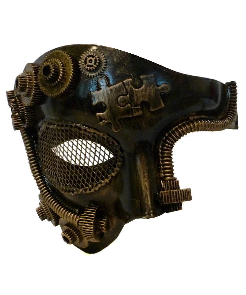 Masque-Steampunk-or