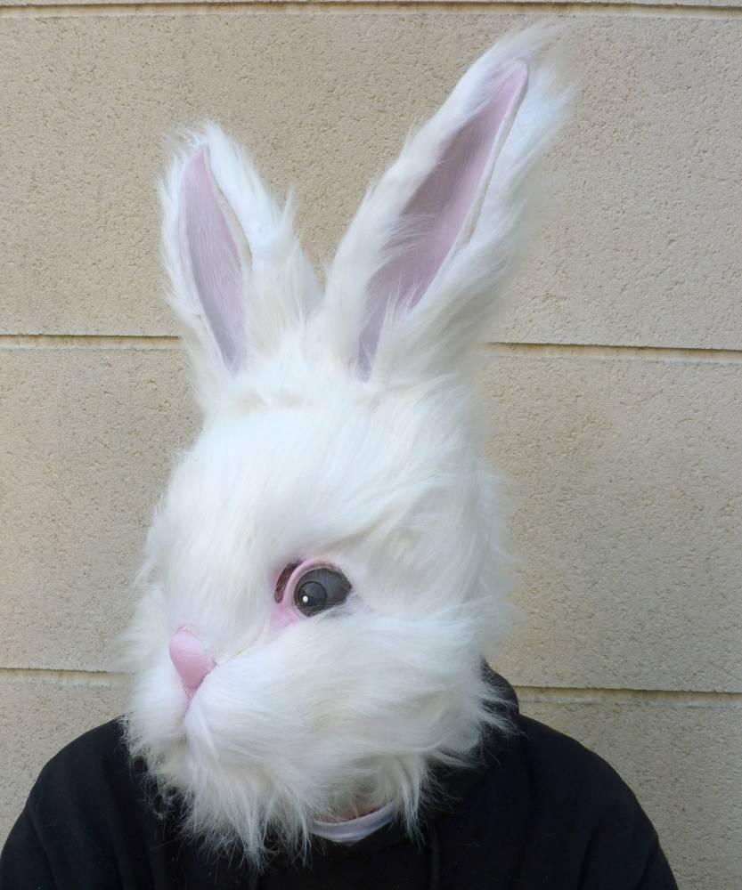 Masque-de-lapin-blanc