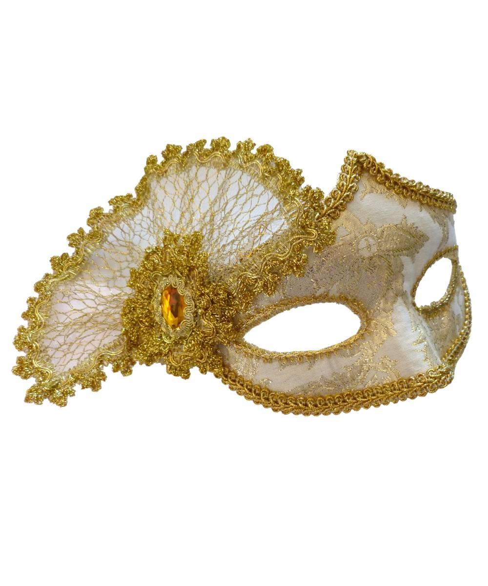 Masque-vénitien-doré