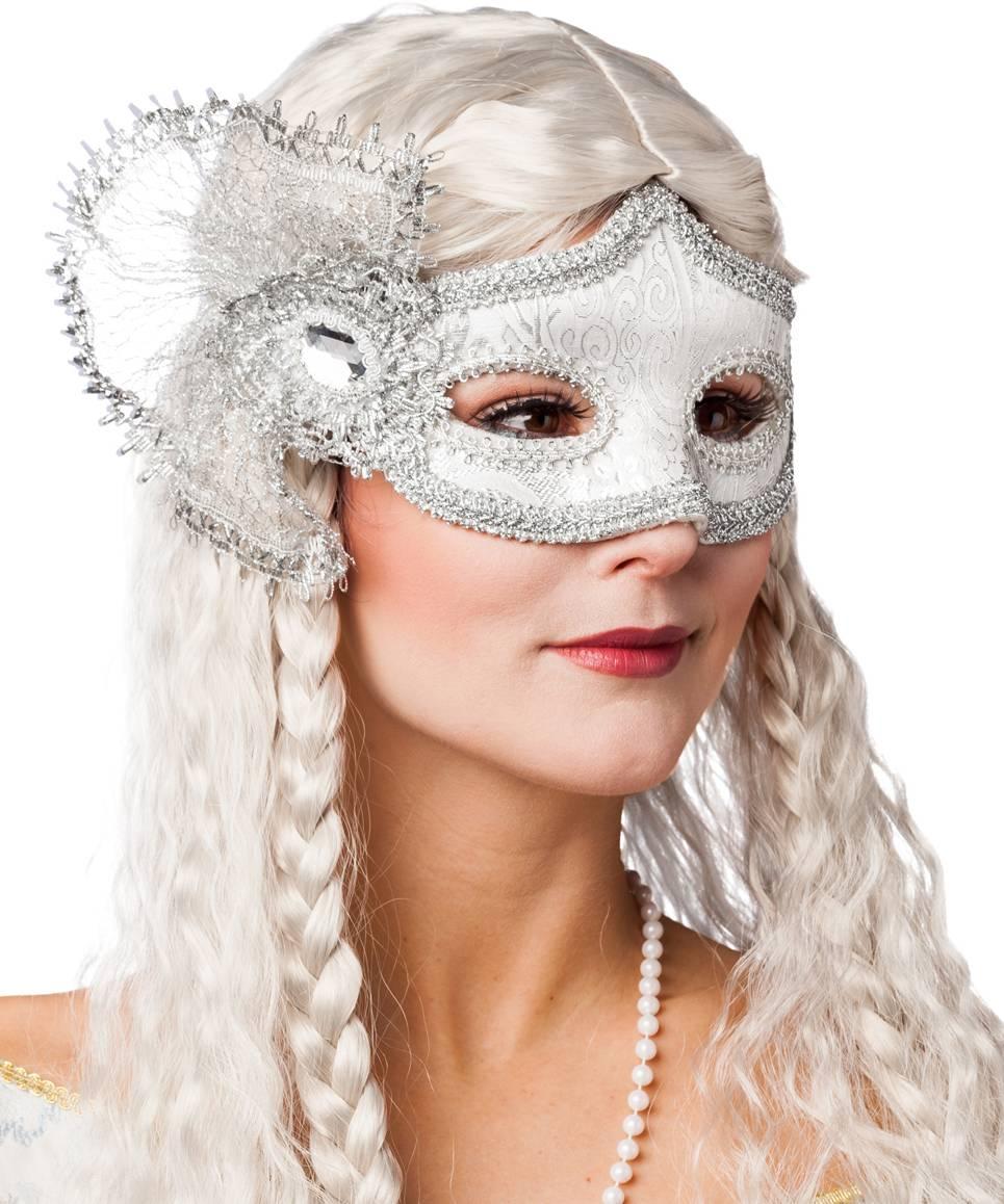 Masque-vénitien-argent