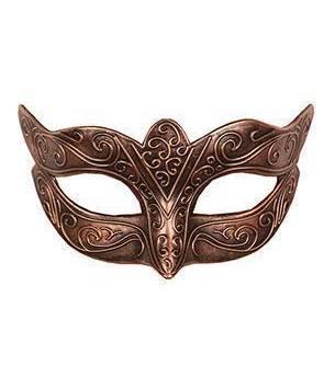 Masque-venitien-bronze