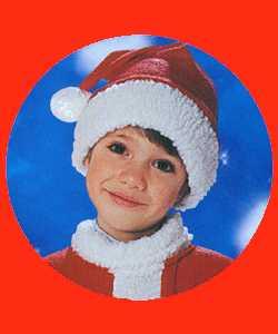 Bonnet-Père-Noël-Enfant