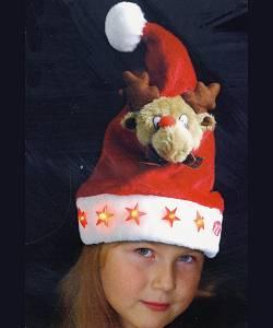 Bonnet-de-Père-Noël-Enfant-Renne