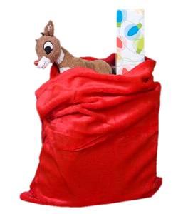 Weihnachtsmann-Sack-Plüsch