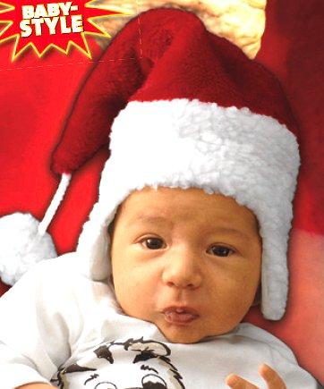 Bonnet-de-Père-Noël-Bébé