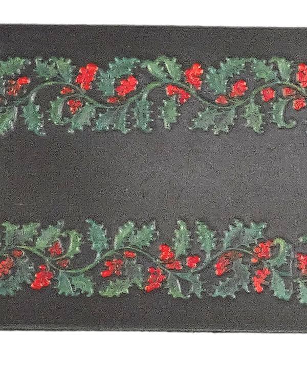 Weihnachtsmann-Lederürtel-2