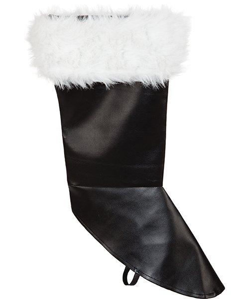 Weihnachtsmann-Stiefelstulpen