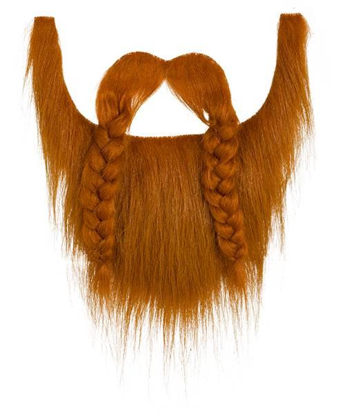 Barbe-Viking-rousse