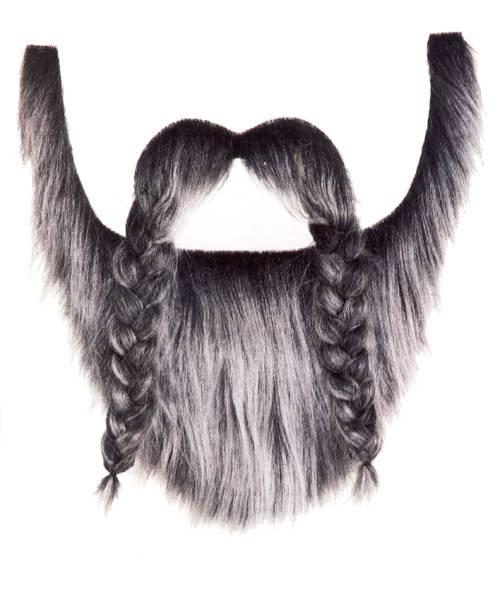 Barbe-Viking-grise