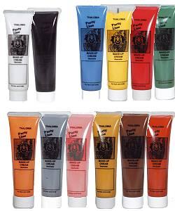 Maquillage de déguisement en tube