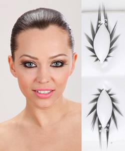 Faux-cils-strass