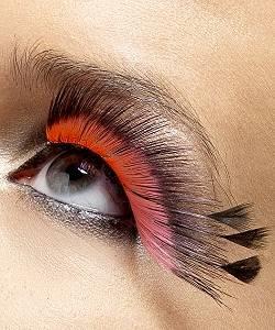 Faux-cils-plumes-noir-rouge-2