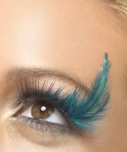 Faux-cils-plumes-Turquoise-M5-2