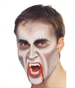 maquillage vampire dracula