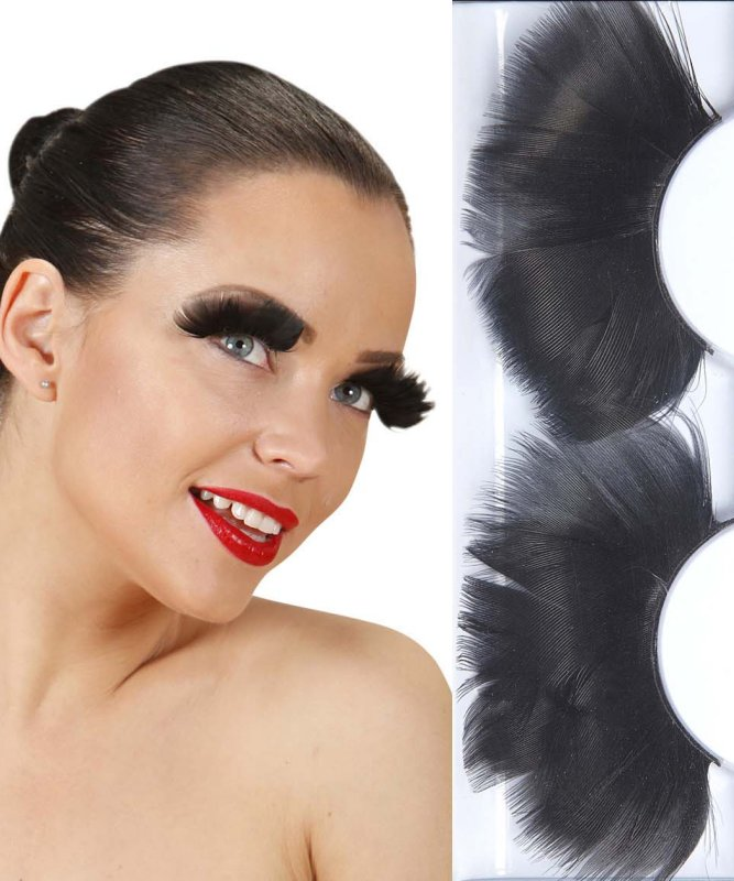 Faux-cils-plumes-noirs-jumbo
