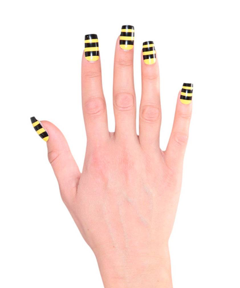 Faux-ongles-abeille
