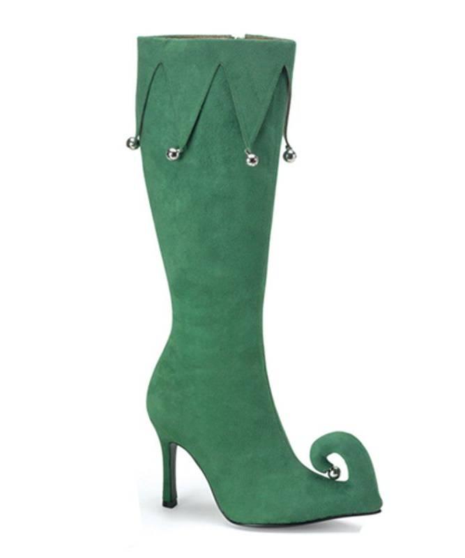 Elfenstiefel-Damen-grün