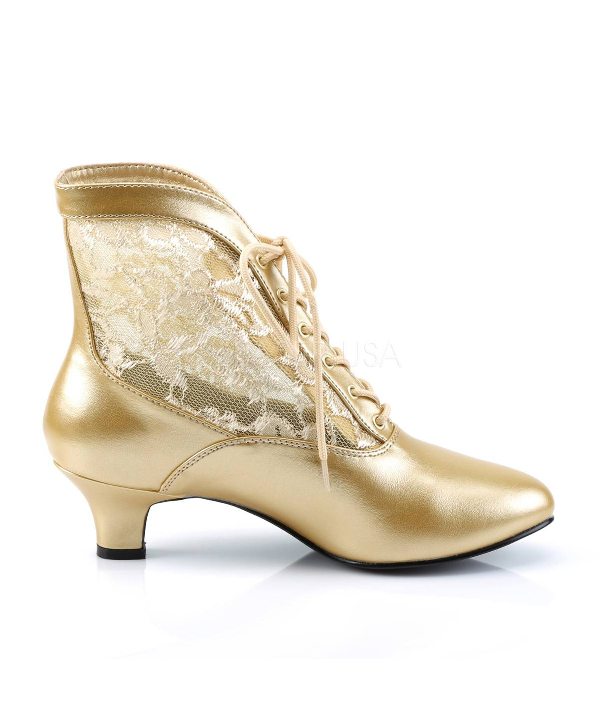 Bottines-or-pour-Dame-ou-Marquise