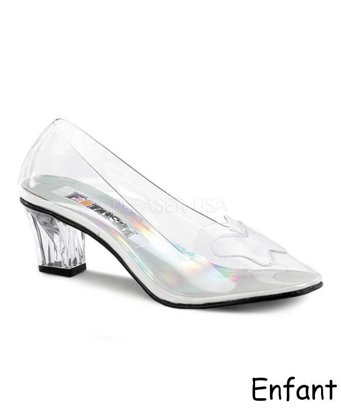 Chaussures-de-verre-Enfant