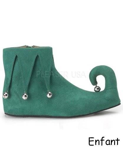 Chaussures-Poulaines-Lutin-Enfant
