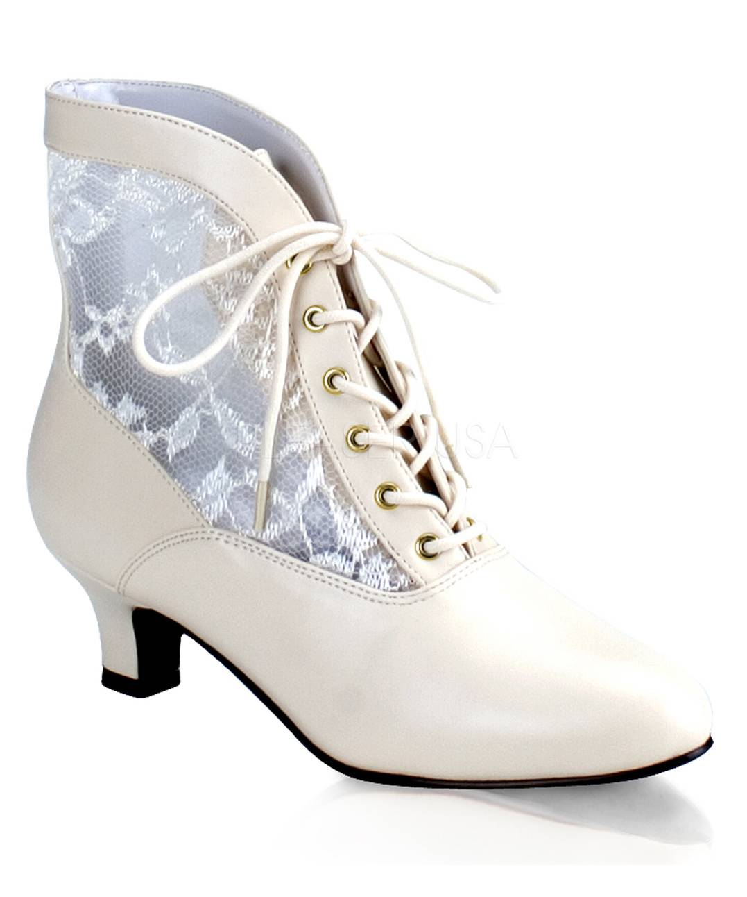 Bottines-blanches-pour-Dame