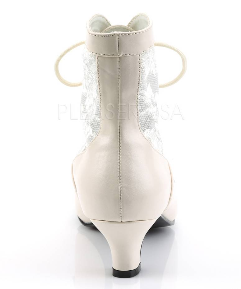 Bottines-blanches-pour-Dame-5