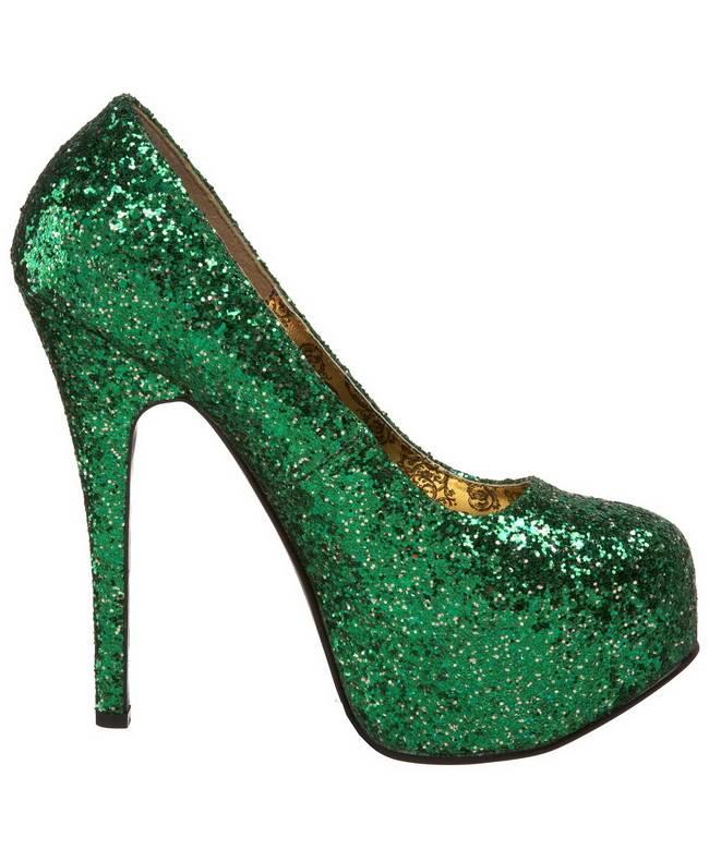 Chaussures-pailletées-vertes-3