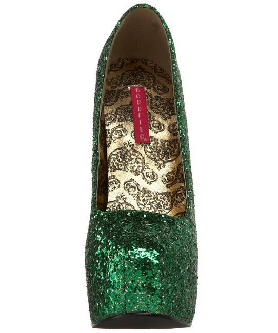 Chaussures-pailletées-vertes-4