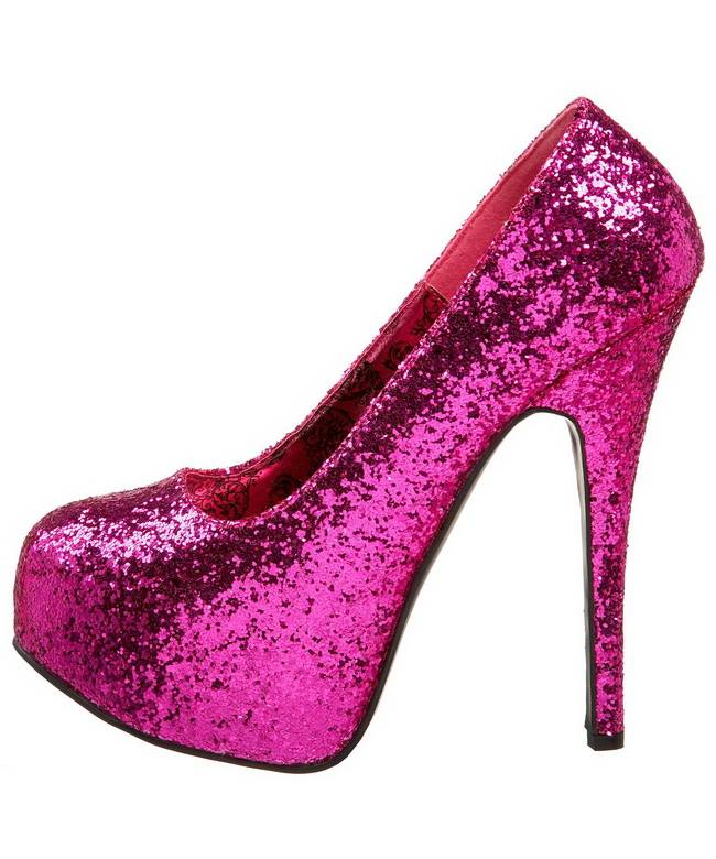 Chaussures-paillettes-roses-2