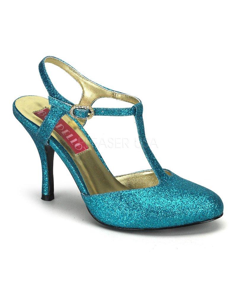 Chaussures-Cabaret-bleue