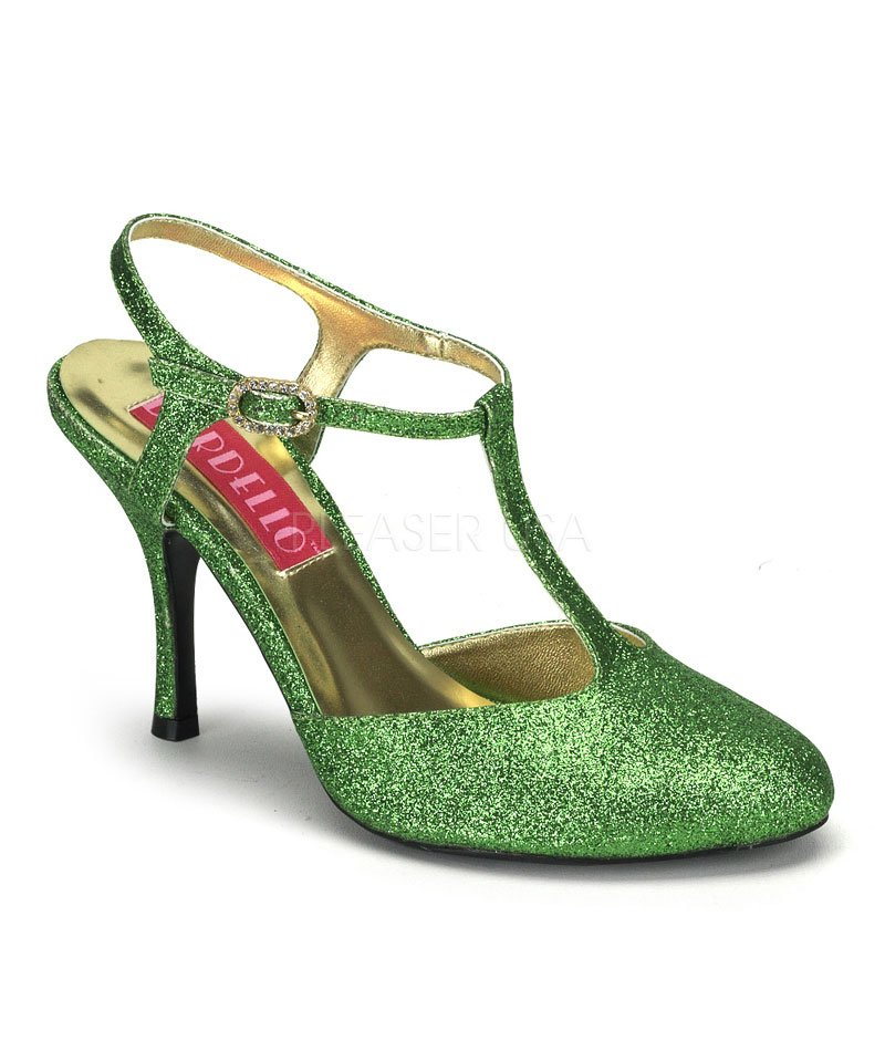 Chaussures-Cabaret-vert