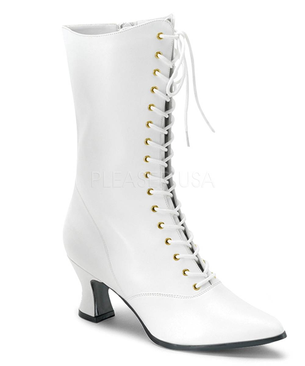 Bottines-Cancan-blanches