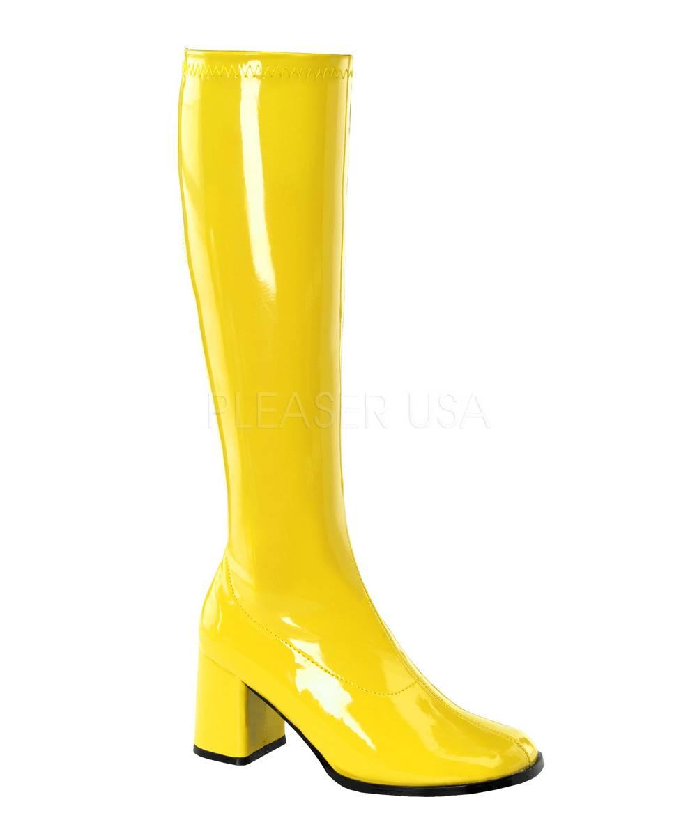 Bottes-jaunes-disco-gogo