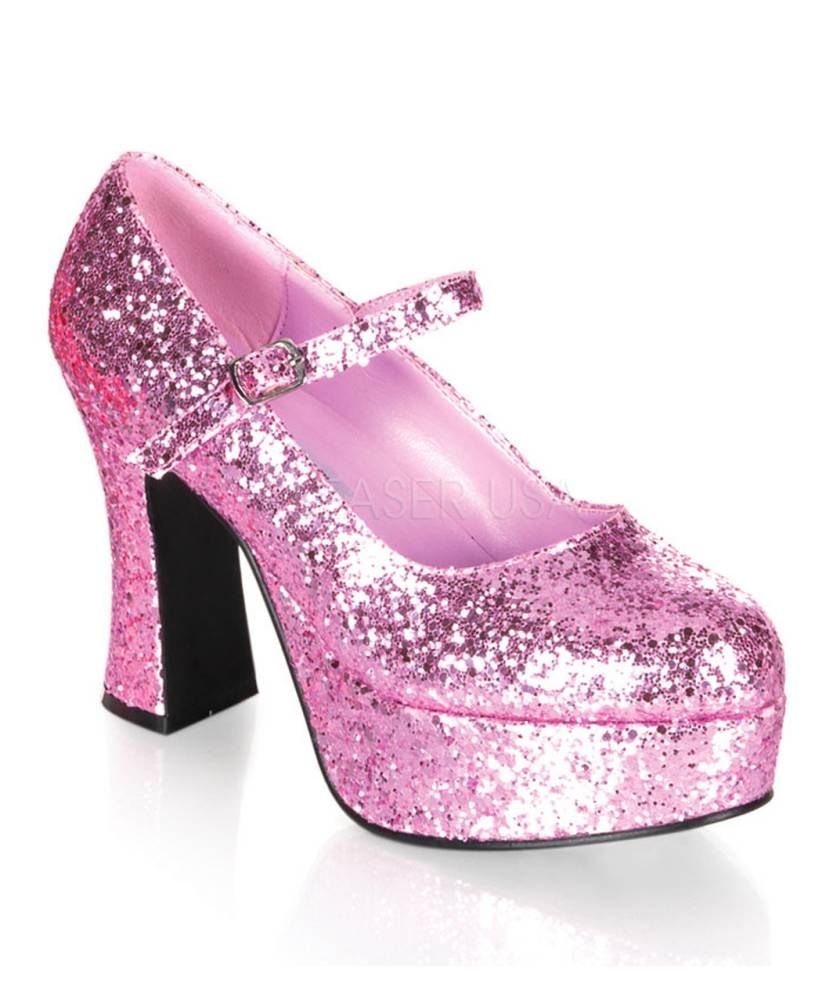 Chaussures-pailletées-roses-homme