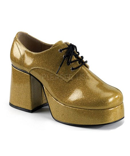 Chaussures-Disco-Homme-or-M2