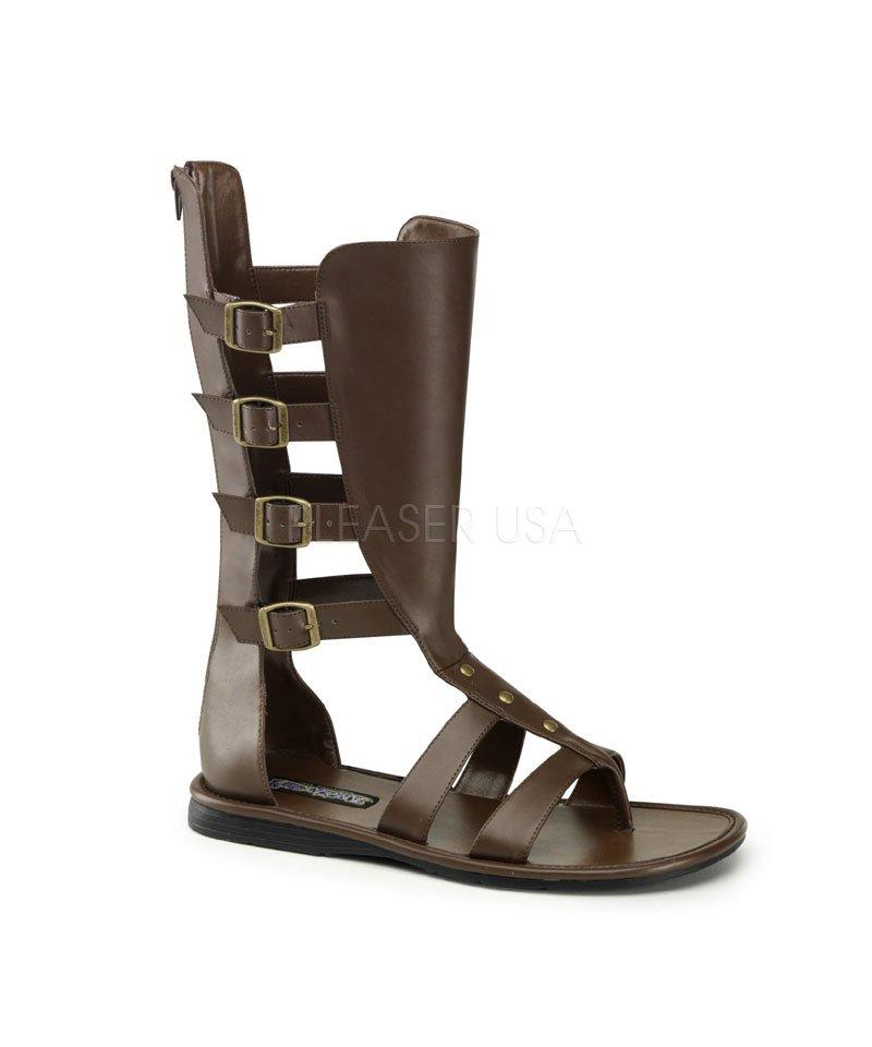 Sandales-Romaines-brunes