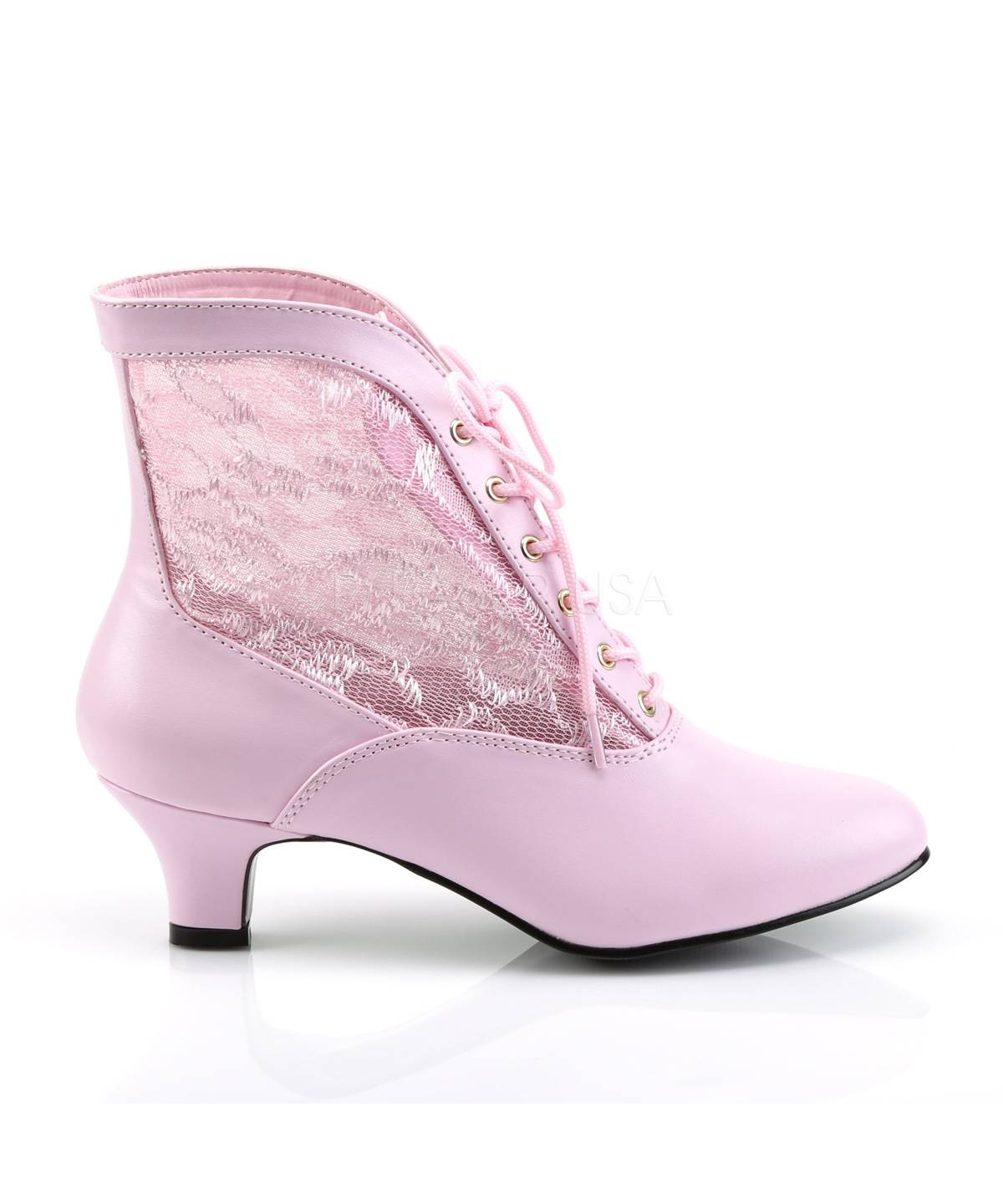 Bottines-roses-pour-Dame