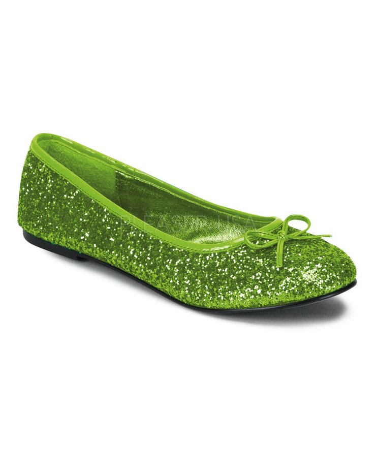 Ballerines-adulte-vert-lemon