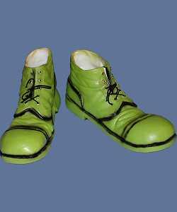 Chaussures-de-clown-Godasses-vertes