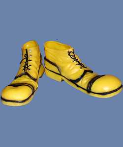 Chaussures-de-clown-Godasses-jaunes