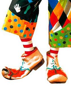 Sur-chaussures-Clown-41-45