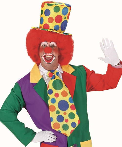 Cravate-de-Clown-géante