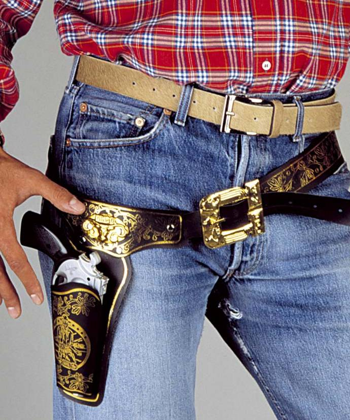 Ceinturon-de-Cow-Boy-Holster-luxe-XL