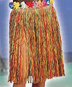 Jupe-raphia-Multicolore