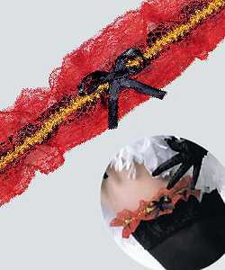 Jarretiere-rouge