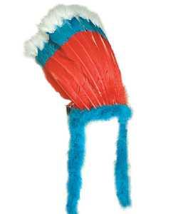 Coiffe-Inca-Bleu