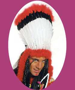 Coiffe-Inca-Rouge